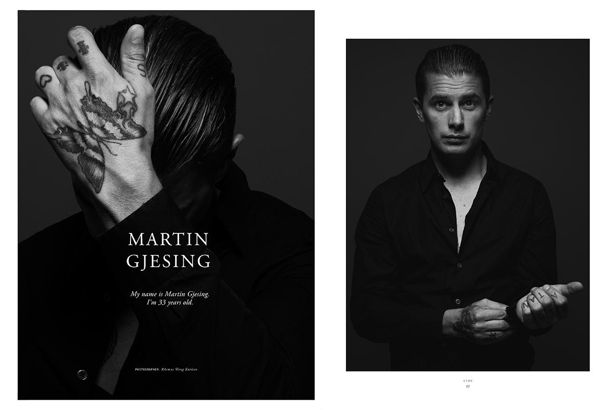 Martin Gjesing Støy Magazine