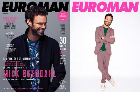 Mick Øgendahl November 2014 – Euroman