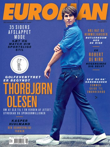 Thorbjørn Olesen August 2013 – Euroman