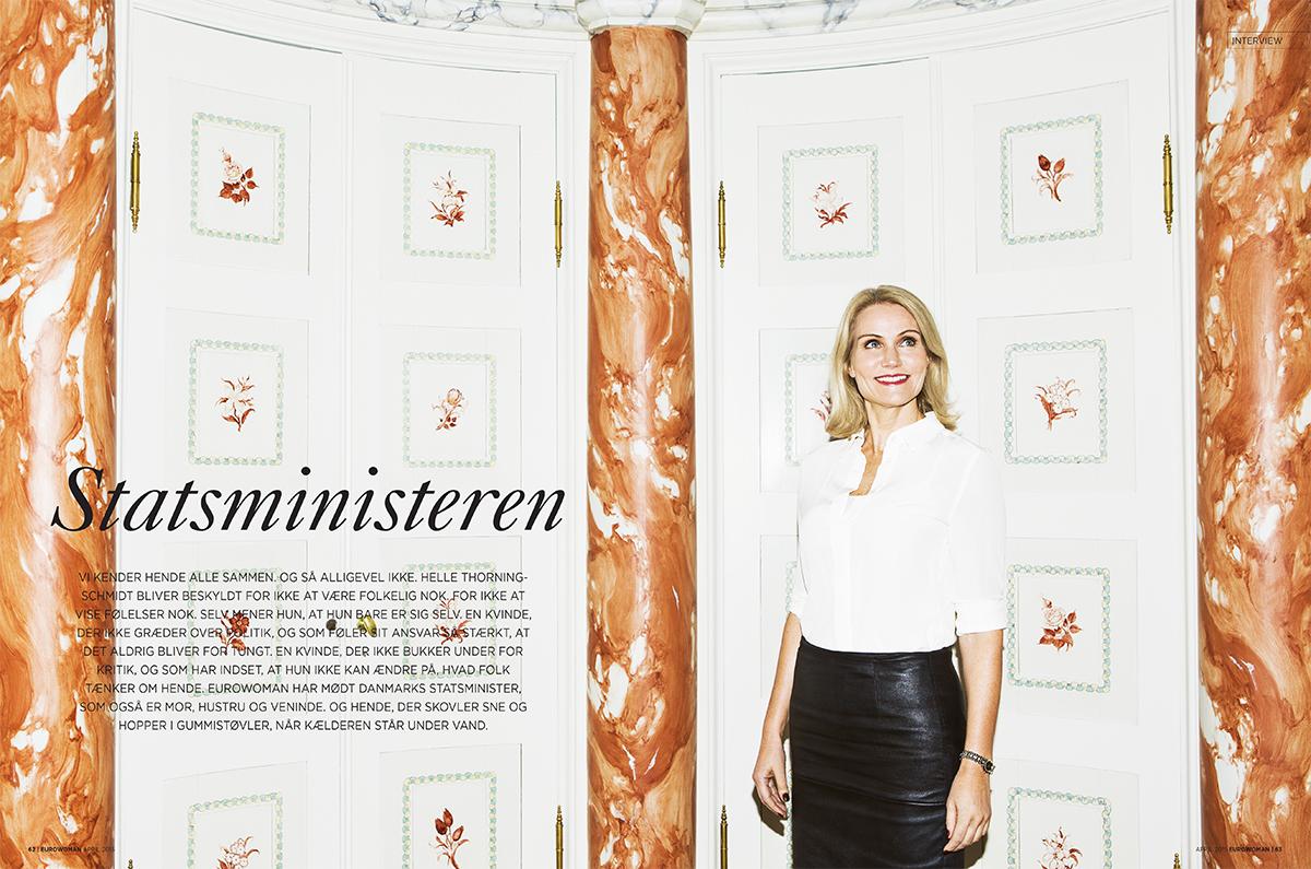 The Danish Prime Minister Helle Thorning Schmidt April 2015 – Eurowoman