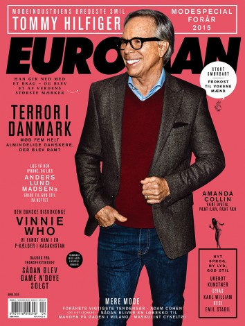 Tommy Hilfiger April 2015 – Euroman