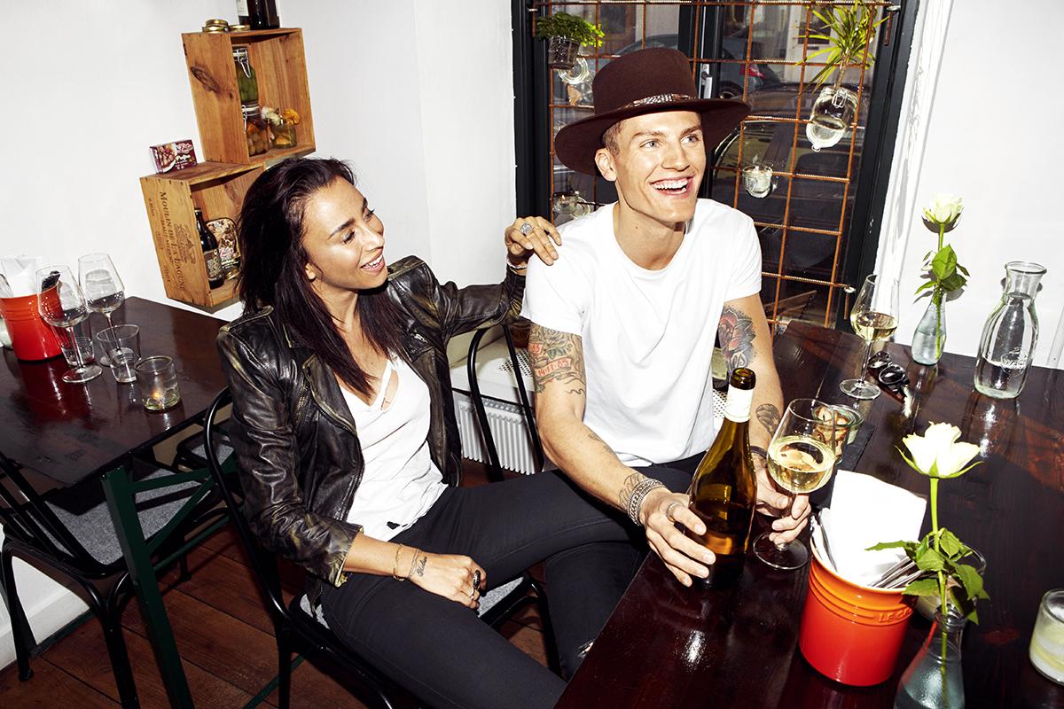 Medina & Mikkel July 2015 – Eurowoman