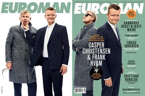 Casper Christensen & Frank Hvam October 2015 – Euroman