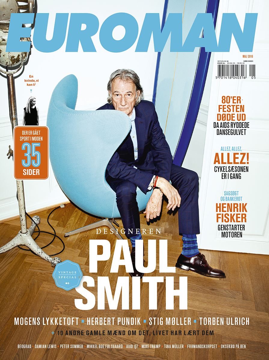 Paul Smith May 2016 – Euroman