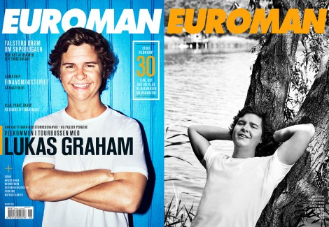 Lukas Graham August 2016 – Euroman