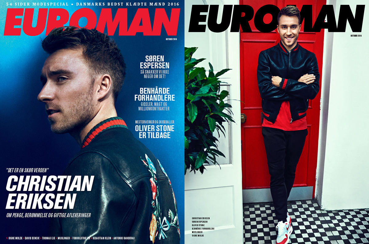 Christian Eriksen October 2016 – Euroman