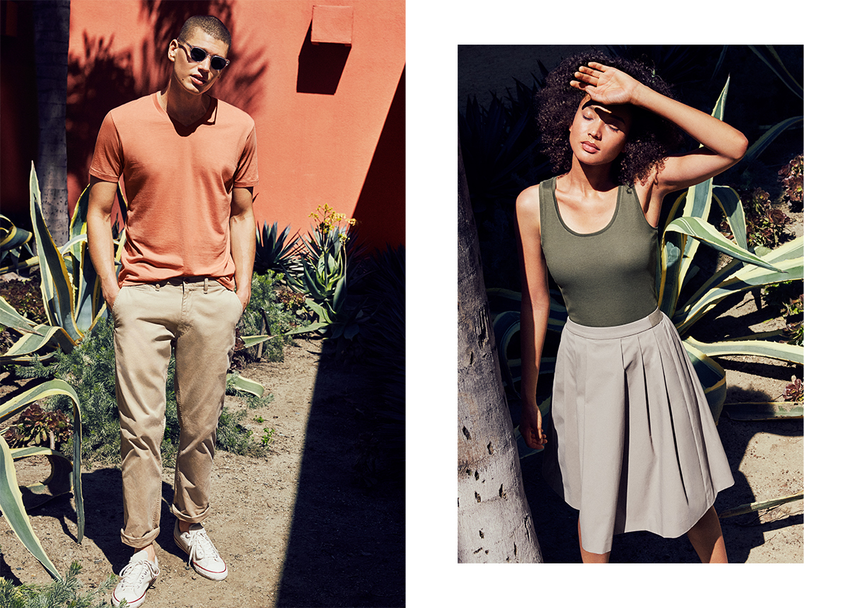Uniqlo Summer Color Theory