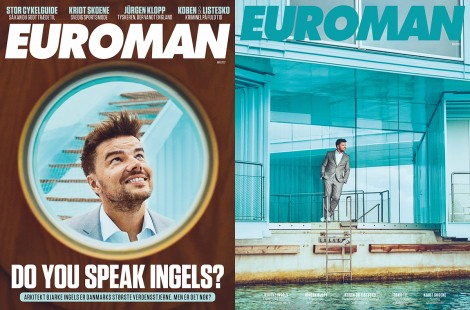 Bjarke Ingels May 2017 – Euroman