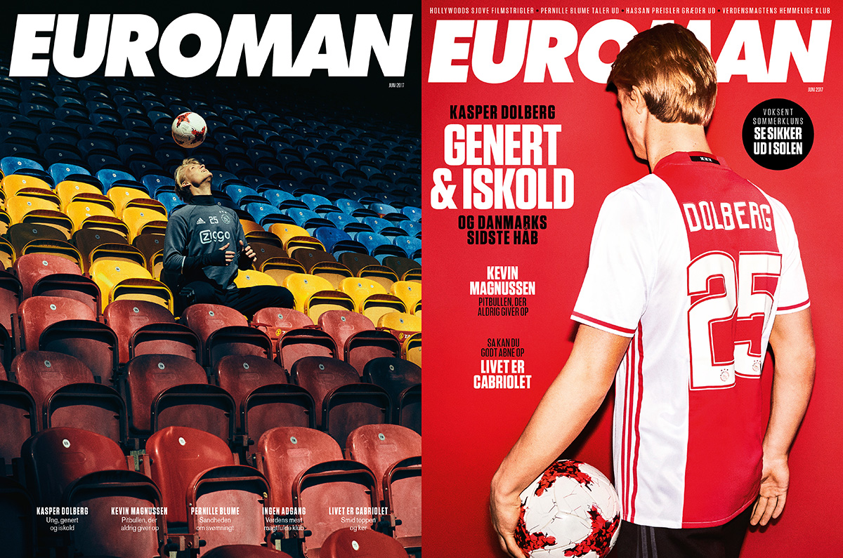Kasper Dolberg June 2017 – Euroman