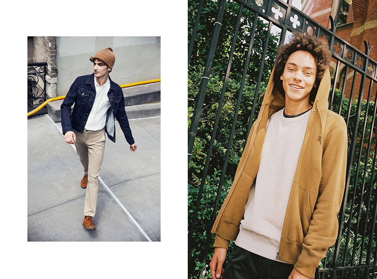 Uniqlo Back To School Basic