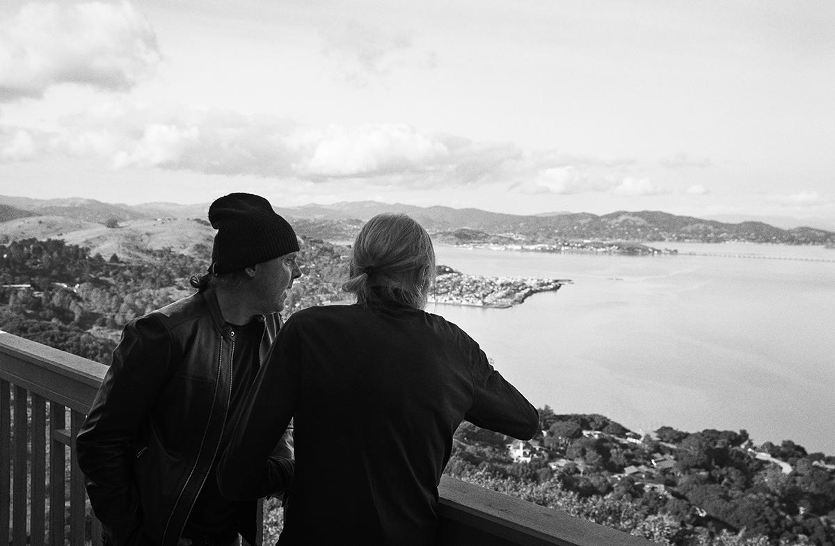 Torben & Lars Ulrich April 2018 – Ud&SE