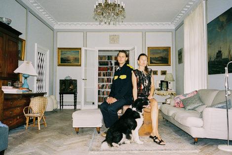 Sophie & Frederik Bille Brahe Oktober 2018 – New York Times Tmagazine