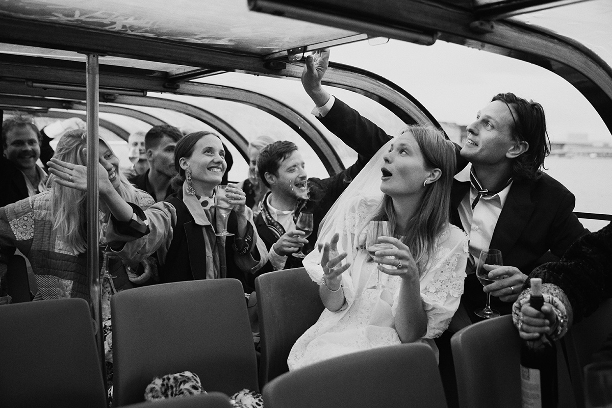 Caroline Brasch & Frederik Bille Brahes Wedding – Vogue US