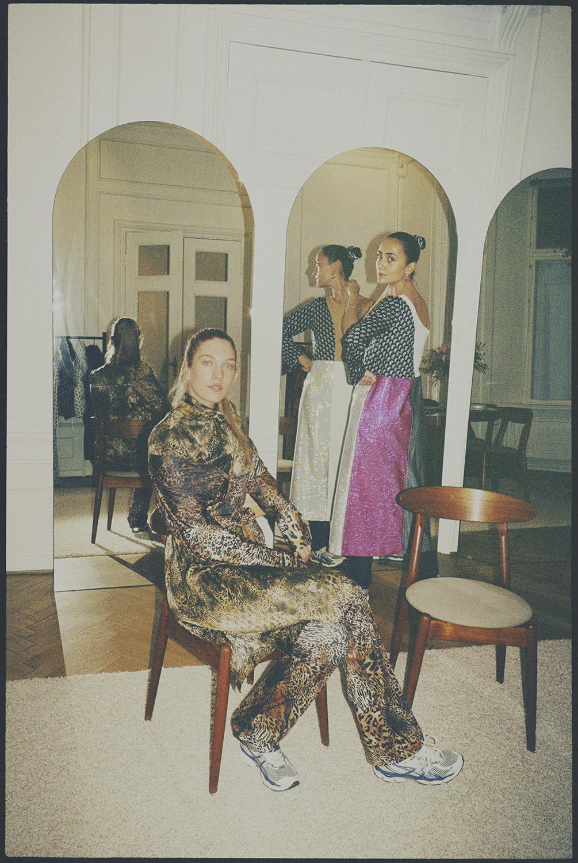 W Magazine Danish Design Talents – Sakspotts, Cecilie Bahnsen, Ganni